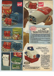 1977 Paper Ad 2 Pg Gaf Winnie The Pooh Theater Stereo Viewer View Master