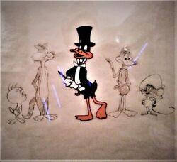 Andldquothe Bugs Bunny And Tweety Showandrdquo Original Production Cel And Production Drawing