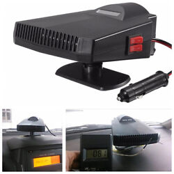 12V 200W Car Ceramic Heater Cooler Dryer Fan Defroster Demister With Dual Switch