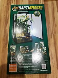 Zoo Med ReptiBreeze Chameleon Kit Medium 16 × 16 × 30  open box item