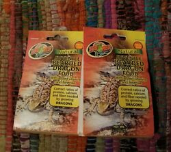 Zoo Med Juvenile Bearded Dragon Food 2 oz. 2 PACK COMBO !!!