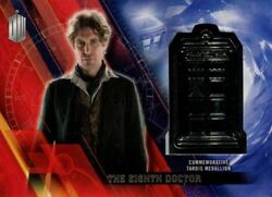 Doctor Who Timeless Platinum Parallel [#11] Tardis Card The Eighth Doctor