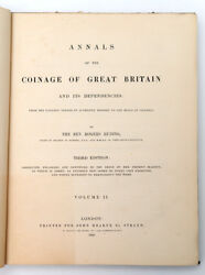 1840 Uk Annals Of Coinage Of Great Britain Antique Book By Rogers Ruding