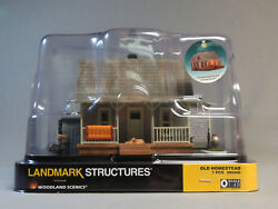 Woodland Scenics Old Homestead Built And Ready O Gauge Farm House Home Wds5860 New
