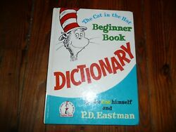 The Cat in the Hat BEGINNER BOOK DICTIONARY PD Eastman I Can Read It