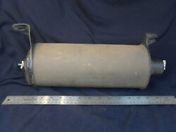 Vintage 1909-1917 Model T Muffler Cast End Ford Script And Steel End Exhaust