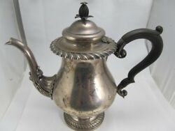 Howard And Co Ny Sterling Vanderbilt Gift Coffee Pot C. 1912 Excellent Condition