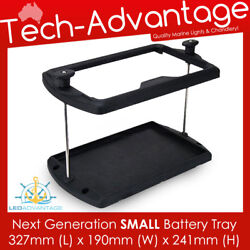 New Next Generation Durable Small Battery Tray Holder - Boat/caravan/tractor