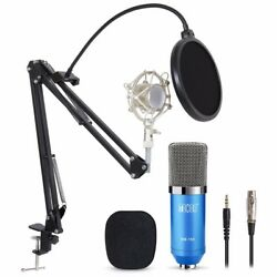 TONOR Pro Studio Microphone Broadcasting Recording Condenser Mic with Stand