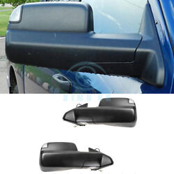 For Dodge RAM 2009-2017 Left&Right Outside Rear Mirror Cover Protector Assembly