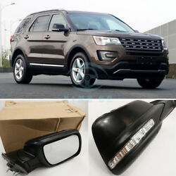 For Ford Explorer 2.3T 3.5T 2013-2017 A Pair Complete Rearview Mirror Assembly