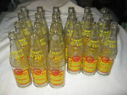 21 Antique Dr Swetts Glass Root Beer Soda Bottle Collection Art Graphic C. 1940