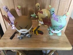 Huck Gee World War Gee Full Set Sold Out Kidrobot Dunny 8andrdquo Super Limited