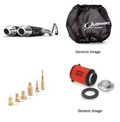 Jet Kit,pre Filter,air Filter And Black Exhaust For Yamaha Rhino 660 2004-2007