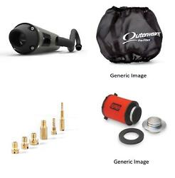 Jet Kit,pre Filter,air Filter And Blackout Exhaust Euro For Yam Raptor 250 08-10