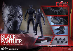 HOT TOYS BLACK PANTHER CAPTAIN AMERICA CIVIL WAR 16 ACTION FIGURE MMS363 NEW