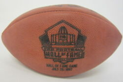 Hall Of Fame Official 1997 Official Game Used Football Vikings Vs Seahawks
