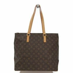 Louis Vuitton Monogram Cabas Mezzo M51151 Women's Tote Bag Monogram BF320173