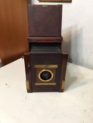 Rare Kershaw's Patent Antique Camera Zeiss Patent Shutter Lens By Ross London