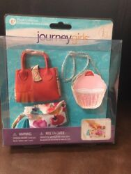 Journey Girls  Purse Collection Cupcake Bag Clutch & Tote For  18