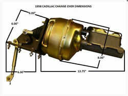 1958 Cadillac Power Brake Conversion Booster Master Cylinder New Updated Upgrade