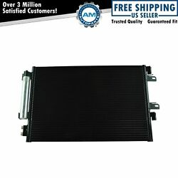 Ac Condenser A/c Air Conditioning W Receiver Drier And Trans Cooler For Jeep Dodge