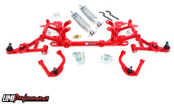 Umi Performance 1998-2002 F-body Ls1 Front End Kit Street Stage 4 Fbs004 Red