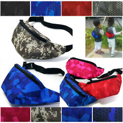 NEW Kids Hip Pouch waist bag Trip excursion bag Passport Travel Bag