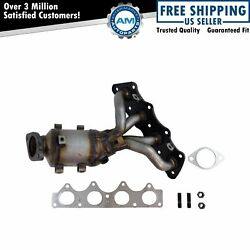 Exhaust Manifold W/ Catalytic Converter Gaskets And Hardware For Hyundai Kia New