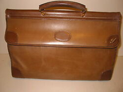 VINTAGE GUCCI SATCHEL STYLE CARRY ON LUGGAGE ALL LEATHER GORGEOUS - LK