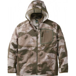 Cabela's Men's Outfitter Camo Merino Wool Wind And Waterproof Warm Hunting Jacket