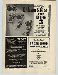 1947 Paper Ad Ohlsson And Rice Model Gas Gasoline Engines Motor Chris Craft Boat