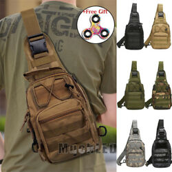 Outdoor Shoulder Military Tactical Backpack Travel Camping Hiking Trekking Bag $15.73