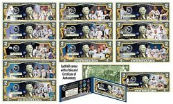 The Apollo Missions Space Program Nasa Official 2 U.s. Bills - Set Of All 12