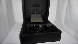 OAKLEY New Sunglasses 129250 C SIX Carbon FiberTungsten Irid Polar OO4047-02