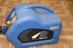 Mastercool 69000 Refrigerant Recovery System USED 12 HP oil-less compressor