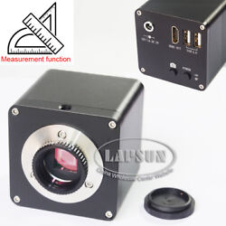 Measuring And Scale 12mp 1080p 60fps Hdmi Digital Industrial Microscope Camera Us