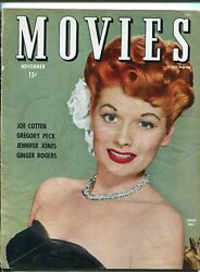 Movies 11/1944-ideal-lucille Ball-ginger Rogers-ida Lupino-roy Rogers-vg Minus