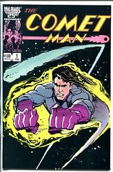 Comet Man 1 1987-double Signed-2 Of 10-billy Mumy-miguel Ferrer-vf/nm