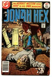Jonah Hex 1-1977-first Issue-comic Book-dc-key
