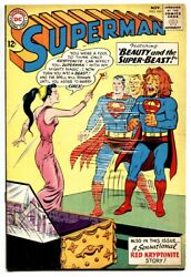 Superman 165 Red Kryptonite Story-silver-age Comic Book 1963-dc
