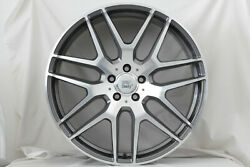 21 Inch Eris Pol Widepack Flow Form Wheels Set - Mercedes Glc64 Gle Gls - Italy