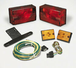 Cequent 407515 Trailer Light Kit W/20 Wire Harness Submersible 4x6 Over 80