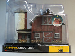 Woodland Scenics O Scale Lighted Old Weathered Barn Built And Ready Gauge Wds5865