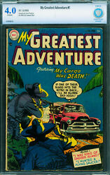 My Greatest Adventure 1 Cbcs 4.0 1955-dc Sci Fi-flying Saucer Story