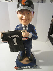 Johnny Manziel Cleveland Browns Signed Special Limited Edition Bobblehead 21/25