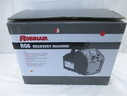 Robinair RG6 Twin Cylinder Oil-Less Portable Refrigerant Recovery Machine