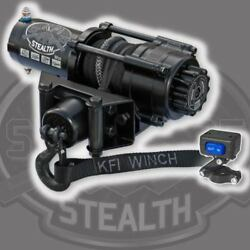 Kfi Atv Se35 Stealth Winch With Mount Kit Fits Yamaha Grizzly 660 02-08