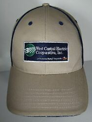 West Central Electric Cooperative Advertising Touchstone Energy Co-op Hat Cap