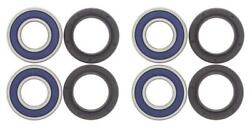 Complete Bearing Kit For Front Wheels Fit Honda Trx250 Recon 1997-2001